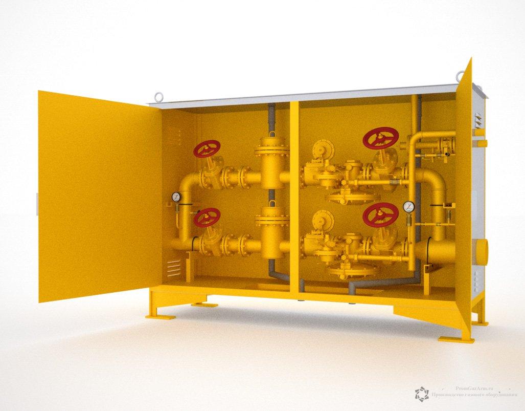 шкаф для газорегуляторного пункта