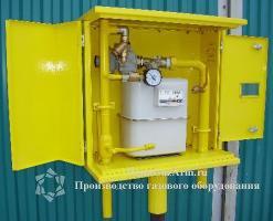 ДРП со счетчиками газа BK-G4, BK-G6, регуляторами серии FE, FES