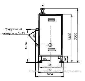 Чертеж ГРПШ-400/2, ГРПШ-400/2-СГ-ЭК