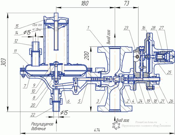 Мембрана РДУ-32