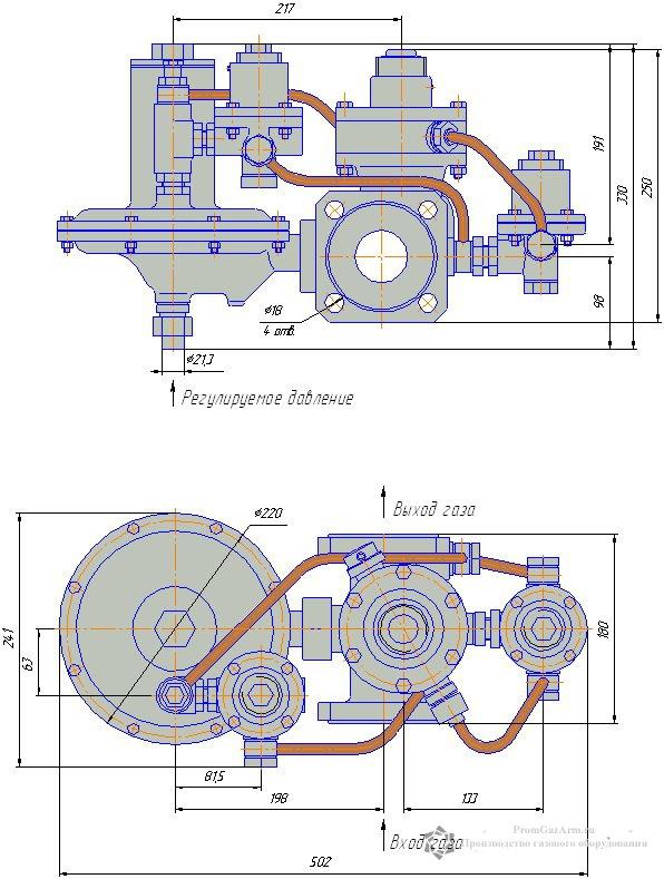 Схема РДСК-50/400 (РДСК-50/400Б, РДСК-50/400М)