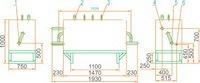 Газорегуляторная установка ГРУ(ШРП)-13-1Н-У1 с байпасом, регулятор давления газа РДГ-50Н