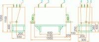 Газорегуляторная установка ГРУ(ШРП)-04-2У1 с основной и резервной линиями редуцирования, регуляторы давления газа РДНК-400