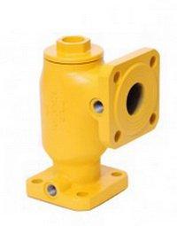 Фильтр газовый высокой очистки угловой ФГС-50 ВО-У