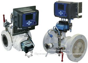 Узел учета газа SEVC-D на базе электронного корректора объема газа Corus