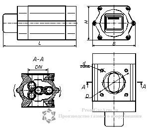 Счетчики газа ТЕМП схема
