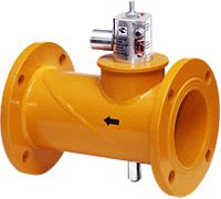 Клапаны запорные газовые с электромагнитным приводом унифицированные КЗГЭМ-У