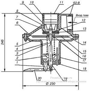 Схема КПС-50, КПС-50Н, КПС-50С, КПС-50В