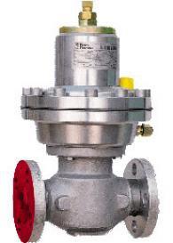 Одноступенчатый пружинный регулятор давления газа DIVAL-160-AP
