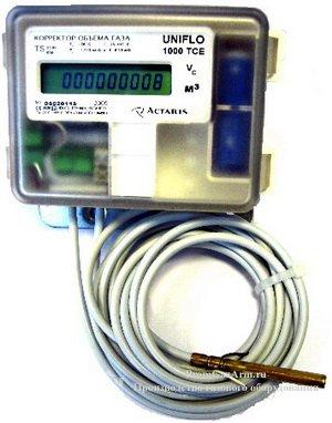 Электронный корректор объема газа UNIFLO-1000-TCE
