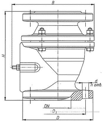 Схема клапана КДЗТ