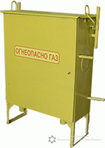 ГРПШ-10МС-2У1 с регулятором РДГК-10М