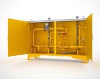 ГРПУ газорегуляторный пункт с измерительным комплексом учета газа