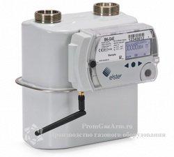 Счетчик газа BK-G4E, BK-G6E, BK-G10E с модулем телеметрии themis alpha