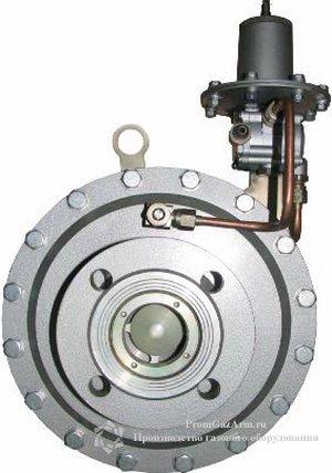 Регулятор давления газа РДГ-П50, РДГ-П50Н, РДГ-П50В прямоточный.