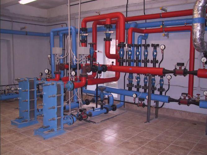 Монтаж системы теплоснабжения зданий