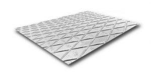 Рифленый лист металлический