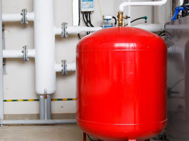 Давление расширительного бака в закрытой системе отопления