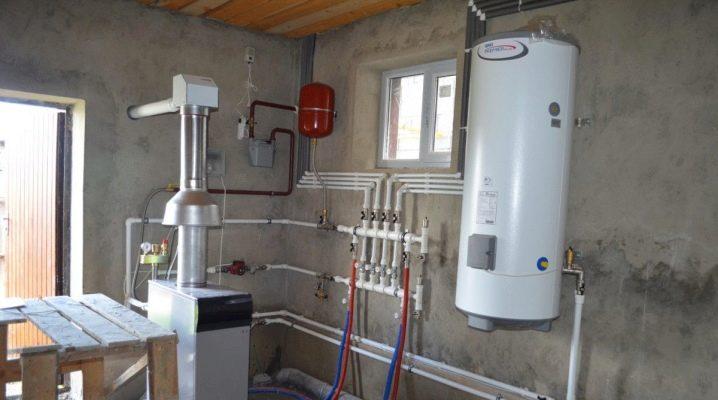 Отопление загородного дома газом